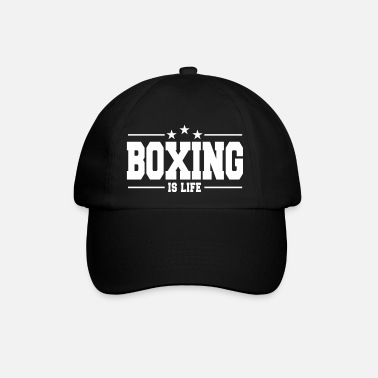 Boxing Gloves boxing is life 1 - Baseball Cap