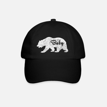 Baby Baby Bear.Gifts for Babies. Baby Camping.Pregnancy - Baseball Cap
