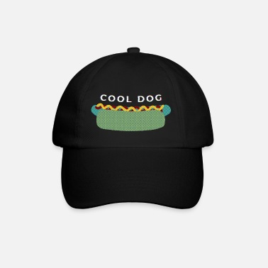 Cool dog - the hot dog of your dreams - Baseball keps