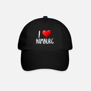 I love Hamburg - Baseball Cap