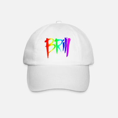 Brill Brill logo (no outline) - Baseball Cap