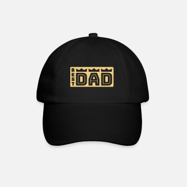 BEST DAD mit Kronen 2019 - Baseball Cap
