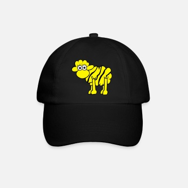 tigre moutons - Casquette baseball