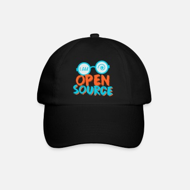 Open Ich bin Open Source - für Nerds / Geeks - Baseball Cap