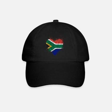 South Africa Heart of South Africa flag vintage - Baseball Cap