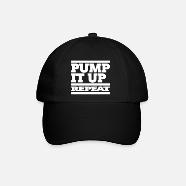 pump it up repeat 1c - Baseballkappe