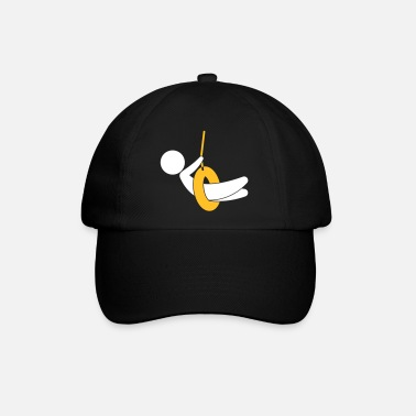 Children S Room Child On A Swing - Baseball Cap