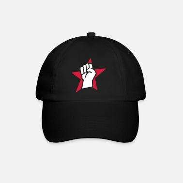 Comunista revolution fist (for black shirts) - Cappello con visiera