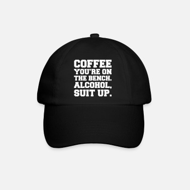 Up Alcohol, Suit Up - Baseball Cap