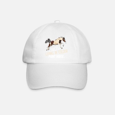 Paint Horse Living in Color - Baseball Cap