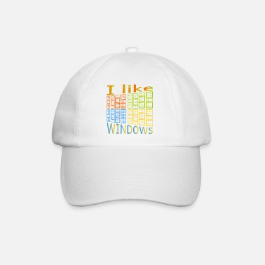 Windows J'aime de Windows - Casquette baseball