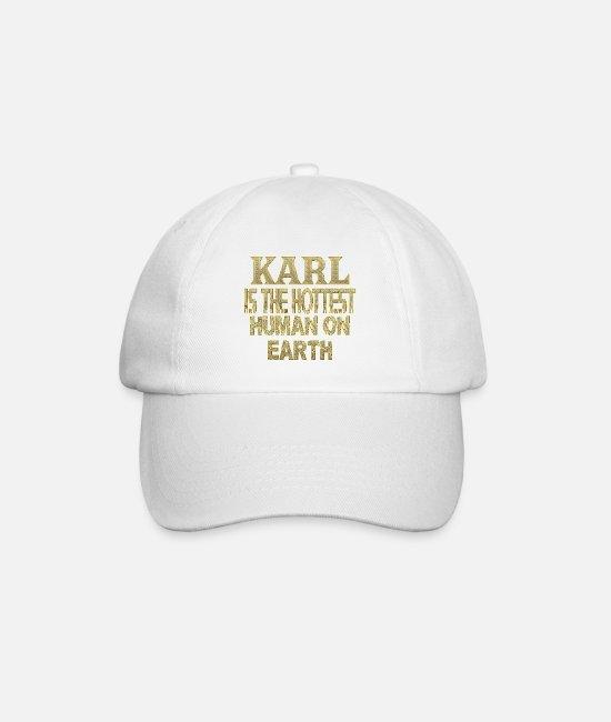 Karl Caps & Hats - Karl - Baseball Cap white/white