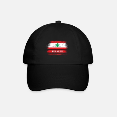 Country Libanon Vintage Flagge - Baseball Cap