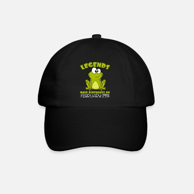 Sparkling Wine Legends Celebration Leap Year Birthday 2020 - Baseball Cap