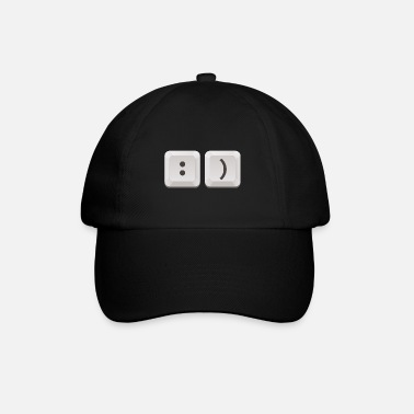Keyboard (smile edition) - Baseball Cap