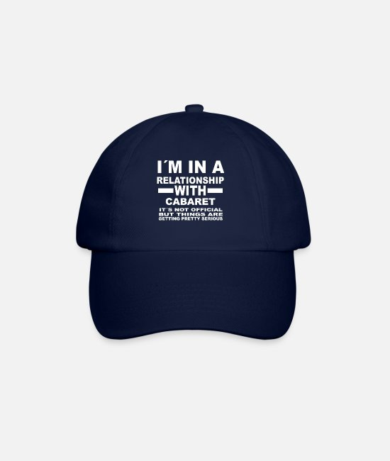 Office Caps & Hats - relationship with CABARET - Baseball Cap blue/blue