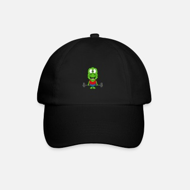 Mode Funny gecko - lizard - fitness - sport - fun - Baseball Cap