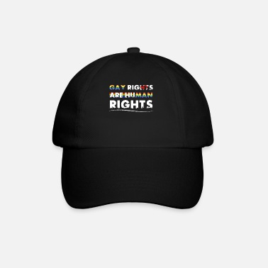 Gay Rights Gay Rights - Gay rights are human rights - Baseball Cap