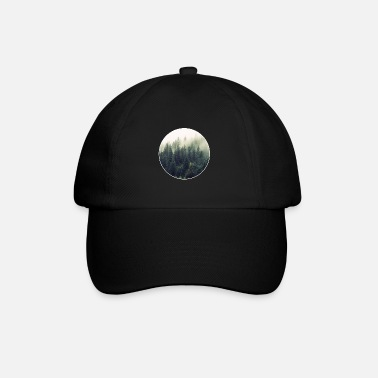 Into The Woods! T-shirt gift nature forest wood - Baseball Cap