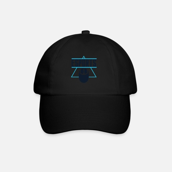 Game Caps & Hats - ESport T-shirt - Baseball Cap black/black