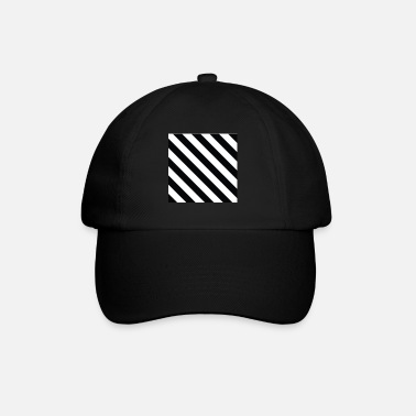 Off Off White Style stripped logo - Baseball Cap