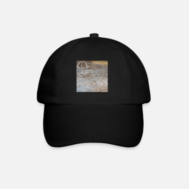 Weather Distressed Wood Design - Baseball Cap