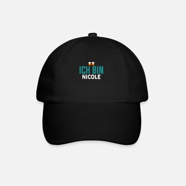 Name Ich Bin Name - Baseball Cap