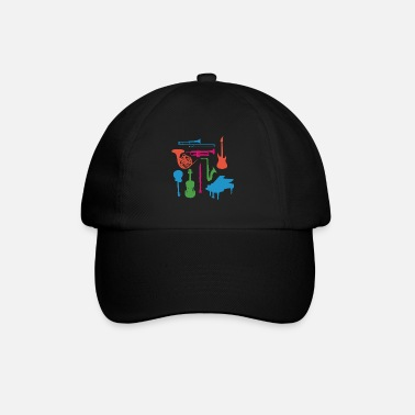 Musical Instrument Musical Instruments - Baseball Cap