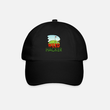 Golf Funny Weed Hacker Golf Green Funny Golfing - Baseball Cap