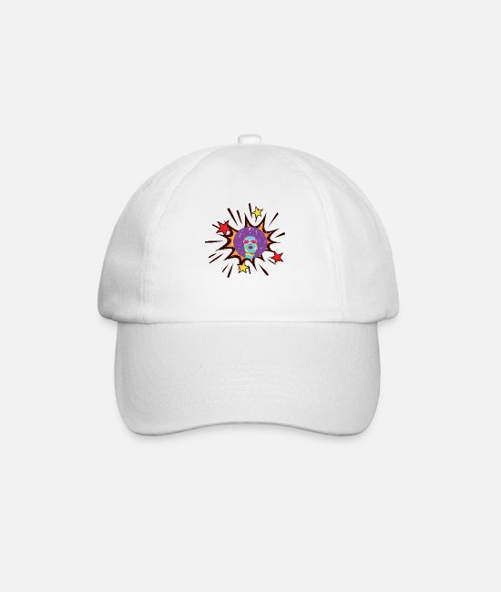 Easter Caps & Hats - comic - Baseball Cap white/white