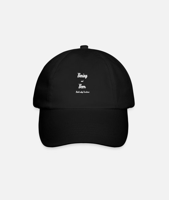 Fighter Caps & Hats - boxer - Baseball Cap black/black
