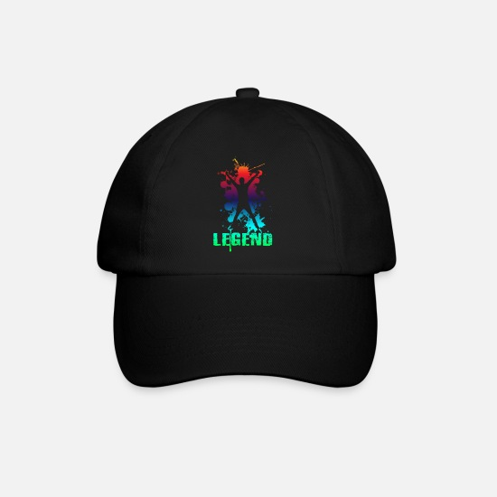 Gift Idea Caps & Hats - Legend - Baseball Cap black/black