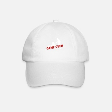 Game Over Game over - the game is over - Baseball Cap