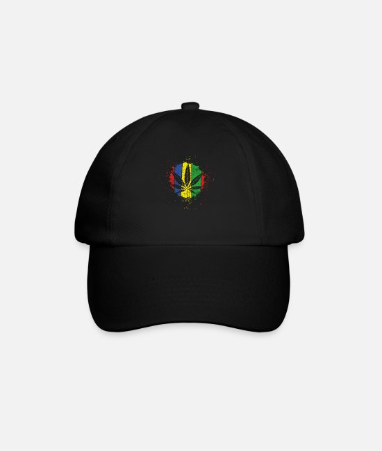 Hemp Caps & Hats - hemp - Baseball Cap black/black