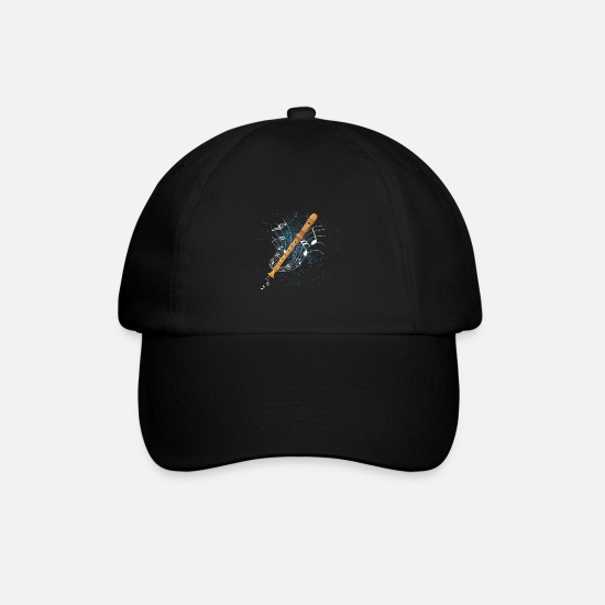 Flute Caps & Hats - recorder - Baseball Cap black/black