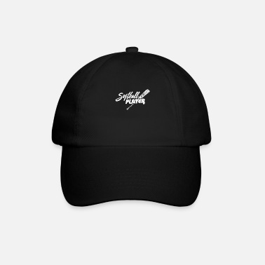 Softball Softball softball player - Baseball Cap