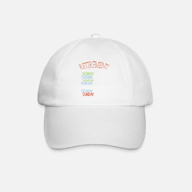 Retirement Camping Retirement Retirement Pension Father Gift - Baseball Cap