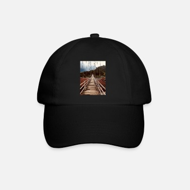 Bridge nature life suspension bridge - Baseball Cap