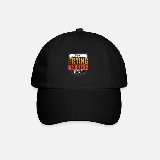 Birthday Caps & Hats - No smoking Quit smoking - Baseball Cap black/black