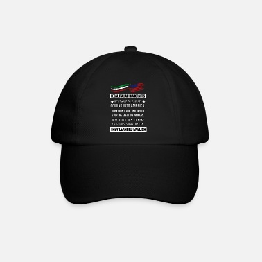 Italian Legal Italian immigrants didn't wave Italian flag - Baseball Cap