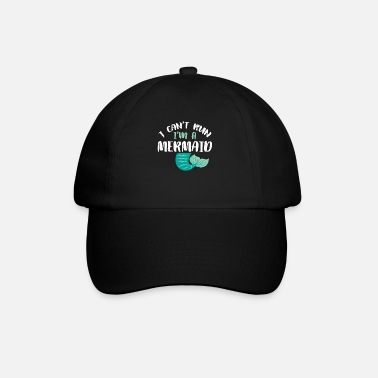 Mermaid Funny Little Mermaid Women Girl Mom Men Birthday - Baseball Cap