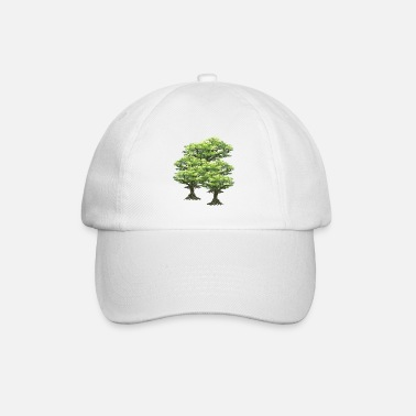 Tree Trees tree forest - Baseball Cap