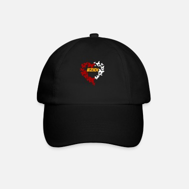 Ezidxan butterfly with the flag of the Yezidi - Baseball Cap