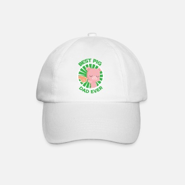 Illustration Bester Hausschwein Dad - Baseball Cap