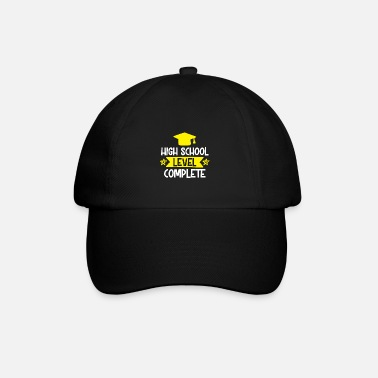 Texte High School Level Complete - Casquette baseball