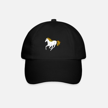 Foal Dressage horses and foals like the stable - Baseball Cap