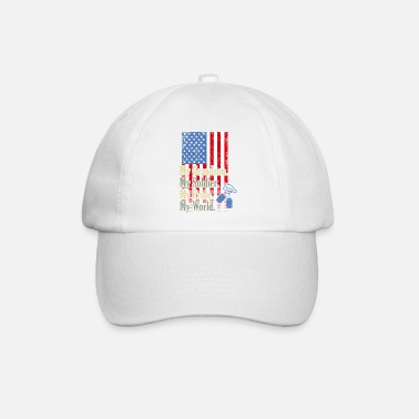 Navy My GrandSon My Soldier Hero Proud Army Grandma Mil - Casquette baseball