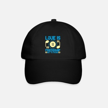 Set Music - Love is friendship set to music - Baseball Cap