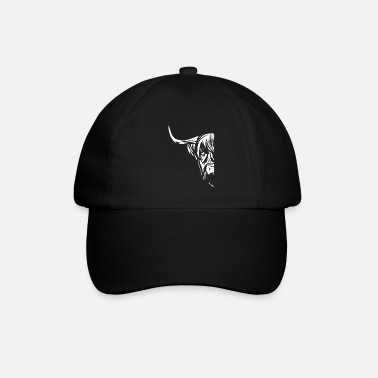 Deux Boeuf fermier Great Highland Cattle - Casquette baseball