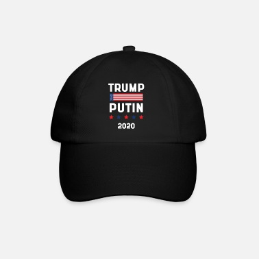 Politics Donald Trump President 2020 - USA Flag Gift - Baseball Cap